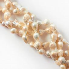 Perły naturalne baroque białe 12-16mm