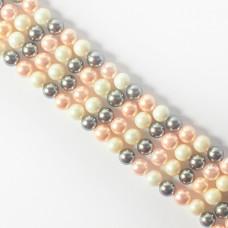 Perły seashell kulki multikolor