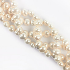 Perły seashell jajo nieregularne 12mm