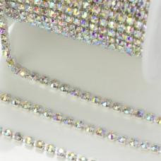 Taśma z kryształkami crystal AB 2mm