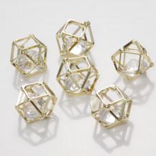 Koralik Kryształek w klatce crystal  12mm