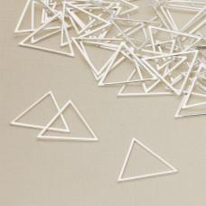 Baza metalowa trójkąt 21x24mm