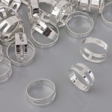 Bazy pierścionka regulowane 18mm