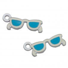 Zawieszka okulary niebieskie 30mm