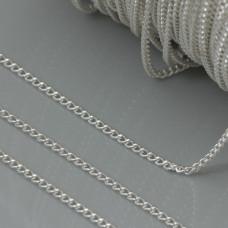 Łańcuszek simple drobny  1,6x1mm