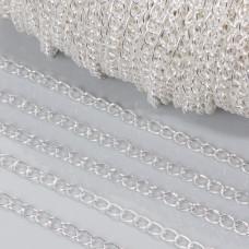 Łańcuch simple w srebrnym kolorze 5.5mm