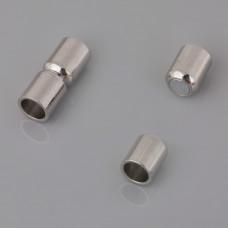 Zapięcie magnetyczne do wklejania rurka 6mm