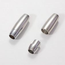 Zapięcie magnetyczne w kolorze srebrnym 23mm