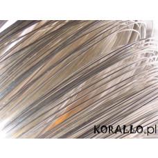 Drut srebrny 0,6mm