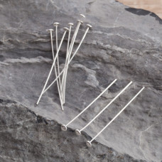 Szpilki srebrne talerzyki 4cm, Ag925
