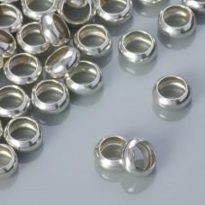 Srebrne przekładki pierścień, Ag925 6mm