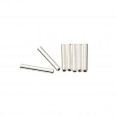 Srebrne rurki proste 1,5mm x 1cm, Ag925