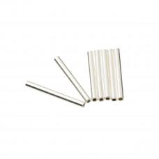 Srebrne rurki proste 1,5mm x 1,5cm, Ag925