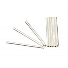 Srebrne rurki proste 1,5mm x 2,5cm, Ag925