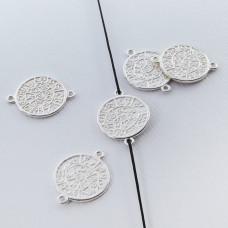 Srebrna moneta łącznik 14,5mm