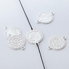 Srebrna moneta łącznik 13,5mm