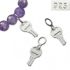 Srebrna zawieszka kluczyk 21mm, Ag925