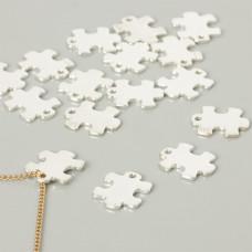 Srebrna celebrytka puzzel 16mm, Ag925