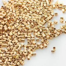 Przekładka rurka GOLDFILLED AU585 2x2mm