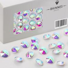Rhinnes rivoli stone 12mm crystal AB