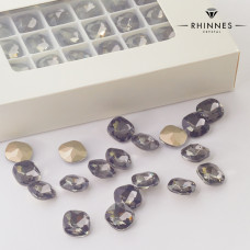 Kryształy Rhinnes diamond cut black diamond 12mm