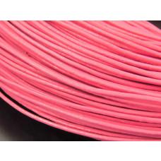 Rzemień różowy 1mm