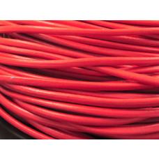 Rzemień czerwony 5mm