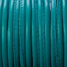 Rzemień szyty niebieski 4mm