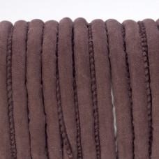 Rzemień szyty czekoladowy 6mm