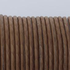 Rzemień klejony czekoladowy 3mm