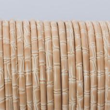 Rzemień klejony piaskowy bambus 3mm