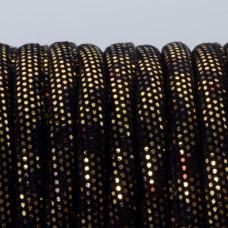 Rzemień szyty złoto azteków 6mm