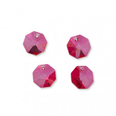 Preciosa octagon candy pink 14mm