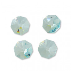 Preciosa octagon light blue 18mm