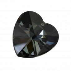 2727 heart, silver night 40mm