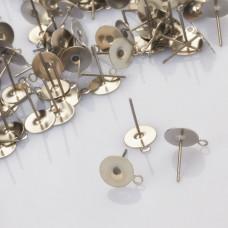 Sztyfty z talerzykiem do naklejania i podwieszania ze stali chirurgicznej 8mm
