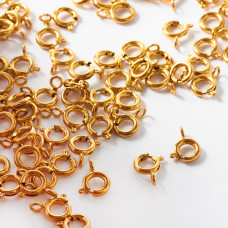 Federing ze stali chirurgicznej w kolorze złotym 6mm