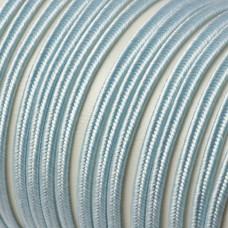 Sznurek pleciony do sutaszu 3 mm błękitny