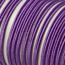 Sznurek do sutaszu 3mm fioletowy