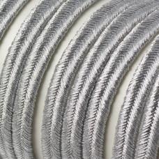 Sznurek do sutaszu 6mm srebrny