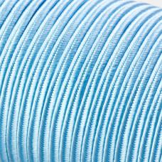 Sznurek do sutaszu acetatowy 3mm jasno niebieski