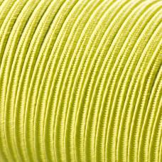 Sznurek do sutaszu acetatowy 3mm zieleń wiosenna