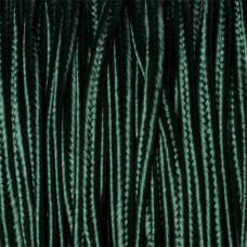 Sznurek do sutaszu ciemna zieleń 3mm