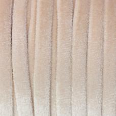 Sznurek welurowy beżowy 1.5x6mm