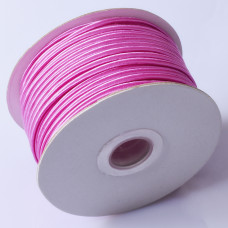 Sznurek do sutaszu chiński shocking pink 3mm