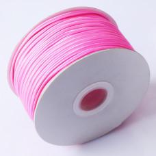 Sznurek do sutaszu chiński neon pink 3mm