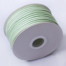 Sznurek do sutaszu chiński sage green 3mm