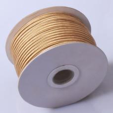 Sznurek do sutaszu chiński old gold 3mm