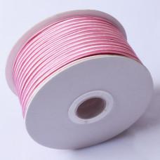 Sznurek do sutaszu chiński hot pink 3mm