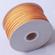 Sznurek do sutaszu chiński orange 3mm